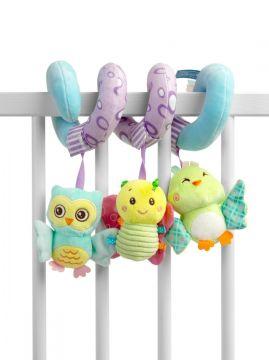 Pehmete mänguasjade spiraal